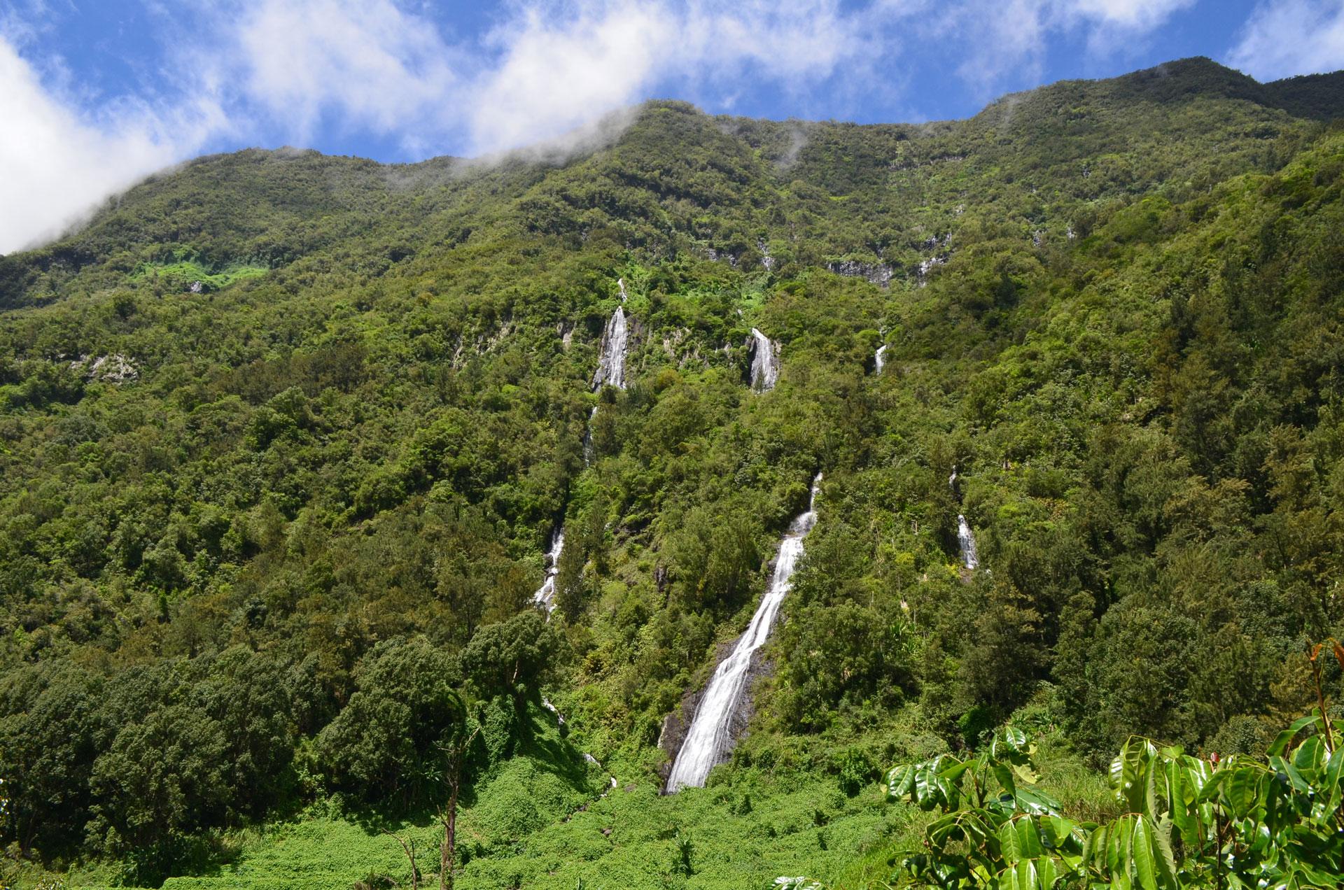 Salazie et les cascades de l'île de La Réunion